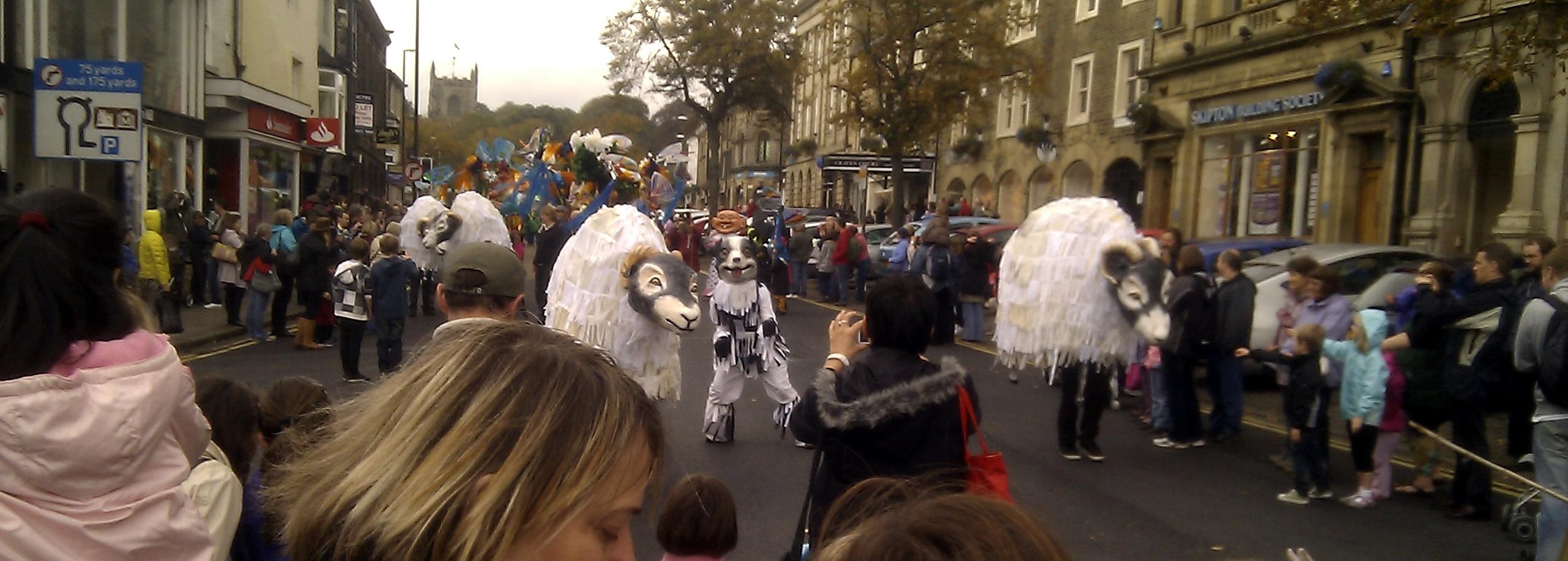 Skipton Puppet Parade
