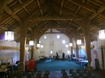 Inside the Barn where we were performing