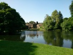 East Riddlesden Hall and the weather is perfect!
