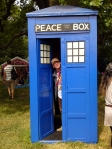 "A ""Peace"" Box for Dr. Who fans in the Green Kids field"
