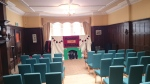 """All set-up for """"Alice in Wonderland"""" show in the Holland's Room"""