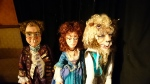 """Marionettes from a production of """"Beauty & the Beast"""""""